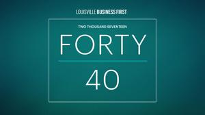 Announcing: 2017 Forty Under 40 honorees