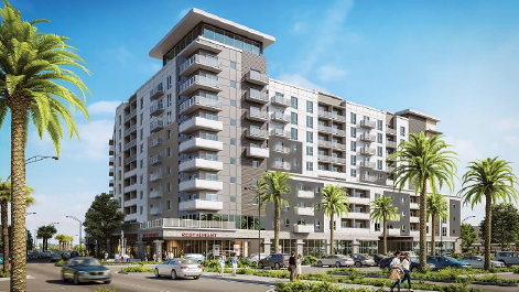 Pompano Beach Considers Plan For Old Town Square Apartments By