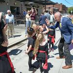 <strong>Steinberg</strong> offers money to arts, wants performers to take to the streets (Photos)