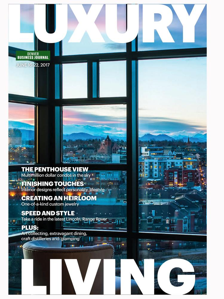 On The Cover: The View From The Master Bedroom In The Penthouse At 1590  Little