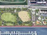Rash Field redesign updated with skatepark, new pavilion