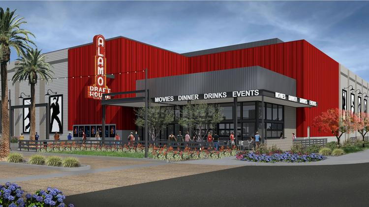 Renderings Of The Collective Development In Tempe And Alamo Drafthouse Opening There