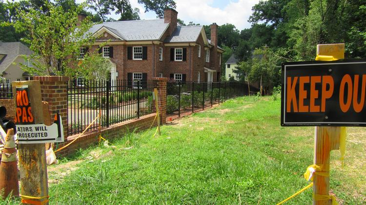 Neighbor sues Goodnight over property rights - Triangle