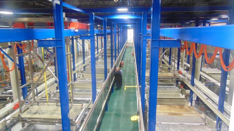 Pioneer Metal Finishing Invested 10 Million Into Its New Hope Facility Which Features A