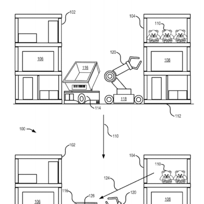 Amazon Seeks To Patent Robots That Pick And Pack