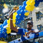 Photos: How Dub Nation celebrated the Warriors championship win