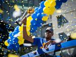 How Dub Nation celebrated the Warriors championship win