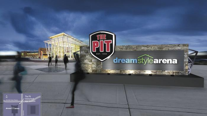 What do you think of the new signs and name for The Pit?