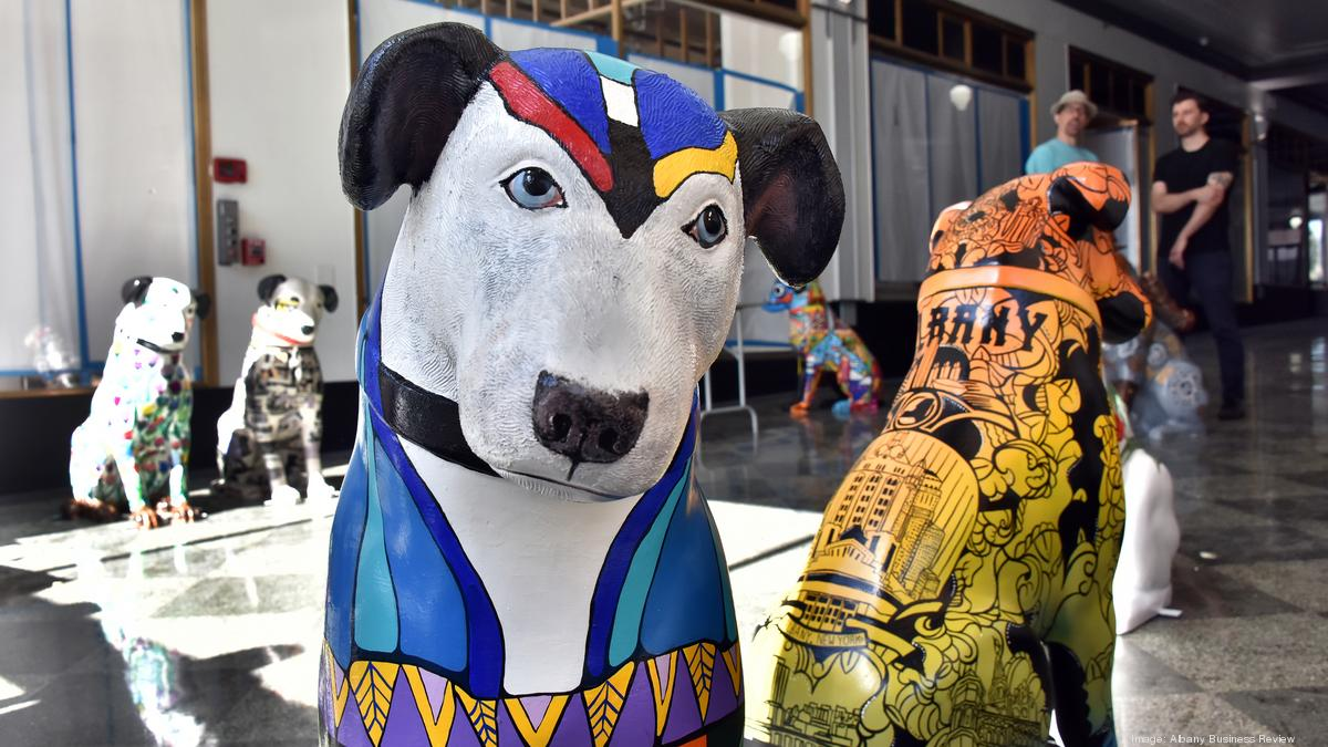 Albany Ny Statues Of Rca Mascot Nipper Go On Display