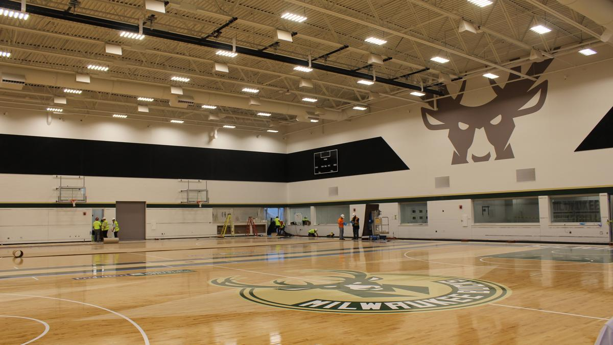 Get Your First Look Inside New Milwaukee Bucks Practice Facility
