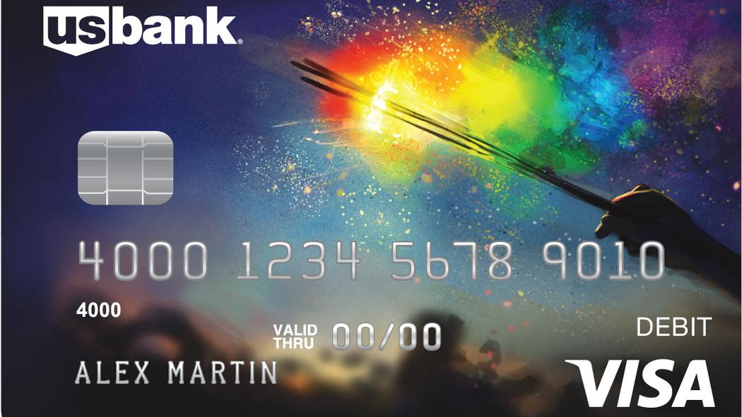 U S Bank Launches Pride Inspired Debit Card Embraces