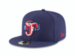 Jumbo Shrimp in Final Four for best MiLB cap logo