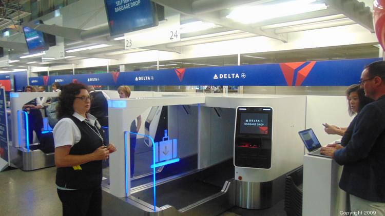 Delta Air Lines Unveiled Its New Self Service Baggage System At Minneapolis St