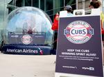 American Airlines' giveaway helps keeps Cubs' World Series title memory fresh