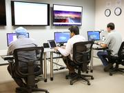 Engineers in vCore's Scottsdale-based network operations center provide 24/7/365 support to clients across North America.