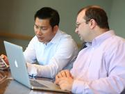 VCore co-founder and CTO Stephen Chieng (left), oversees the company's engineering team, while Chief Information Security Officer Leaton Skeoch (right) is responsible for security and information systems, along with vCore operations in Canada.