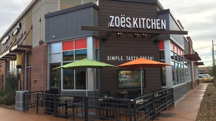 A Zoës Kitchen Location In Boulder, Colo.