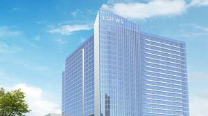 The proposed convention hotel for Kansas City will fly a new flag.