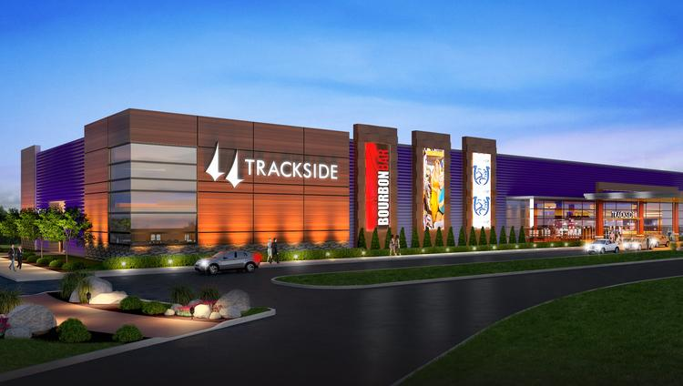 Churchill Downs Inc. is investing about $60 million to build this historical-race wagering facility in Louisville at its former Trackside training and simulcast wagering facility on Poplar Level Road.
