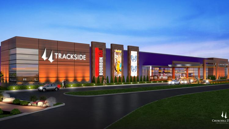 Churchill Downs Inc. is investing about $60 million to build this historical race wagering facility in Louisville at its former Trackside training and simulcast wagering facility on Poplar Level Road.