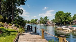 Private Waterfront Cul-De-Sac Brick Home