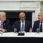Trump again attacks Amazon, saying company does 'great damage' to retailers