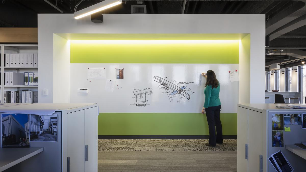Office Design Trends Emphasize Back To Nature Features Workspace