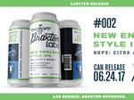Braxton's experimental lab launching its first canned beer