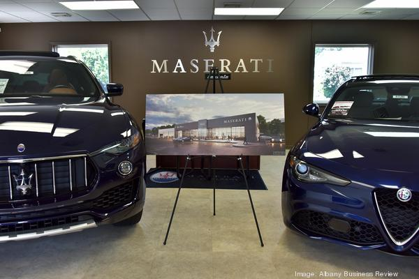 maserati alfa romeo dealership moving to new address on central avenue albany business review maserati alfa romeo dealership moving
