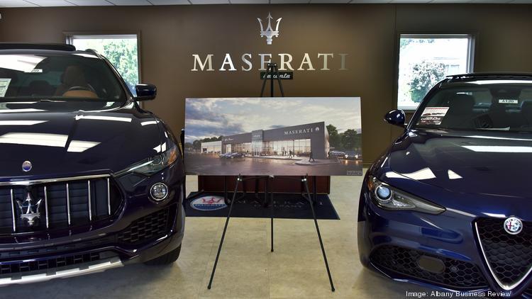 maserati/alfa romeo dealership moving to new address on central