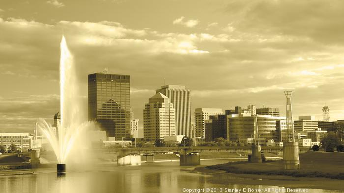 How often do you go to downtown Dayton?