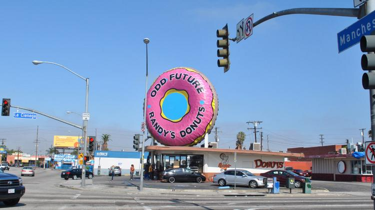 randy s donuts odd future strike co branding deal with live nation