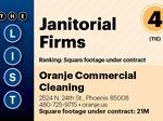 Top of the Phoenix Lists: Janitorial Firms