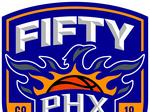 Here's a look at the Phoenix Suns 50th anniversary logo