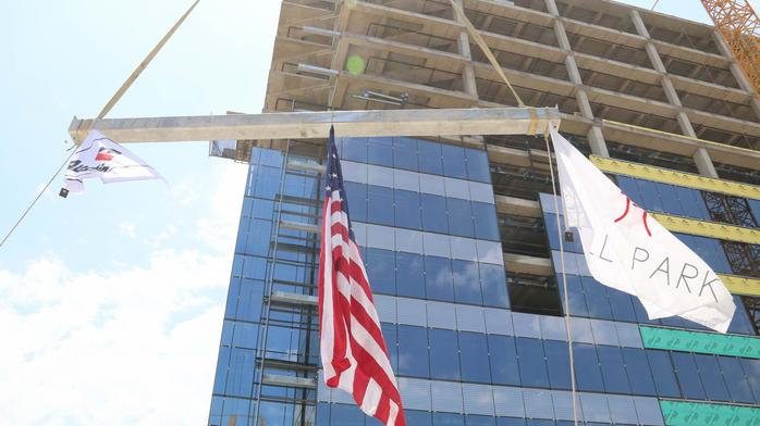 Frisco's tallest building reaches new heights for the city
