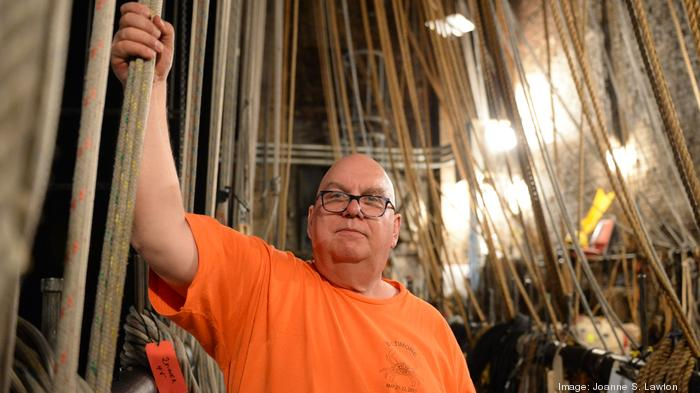 ​Bye-bye, hemp and sand: National Theatre prepares to cut ties with ancient rigging system
