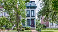 A Perfect Painted Lady in Lafayette Square
