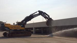 Demolition of aging mall makes way for $500M initial phase of Dallas Midtown corporate magnet
