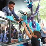 NBA honors Charlotte Hornets exec for delivering on fan experience