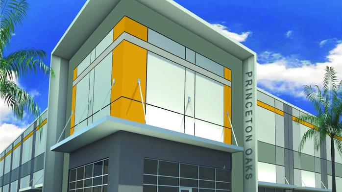 Princeton Oaks spec industrial complex breaks ground