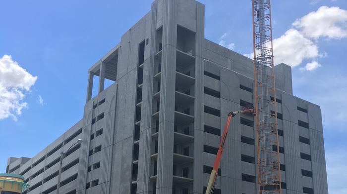 I-Drive's Hollywood Plaza completes exterior work