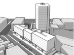 Exclusive: Tower plan could add 433 apartments to transit-rich S.F. district