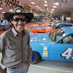 The King of speed: Decades later, racing legend <strong>Richard</strong> Petty remains an economic engine