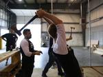 Axe-throwing venue opens in Millvale