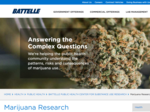 DEA visiting Battelle as it prepares for medical marijuana research