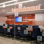 Columbus' coolest offices: <strong>Schneider</strong> <strong>Downs</strong>' new space has a Scrabble-themed boardroom