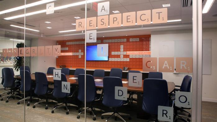 Columbus' coolest offices: Schneider Downs' new space has a Scrabble-themed boardroom