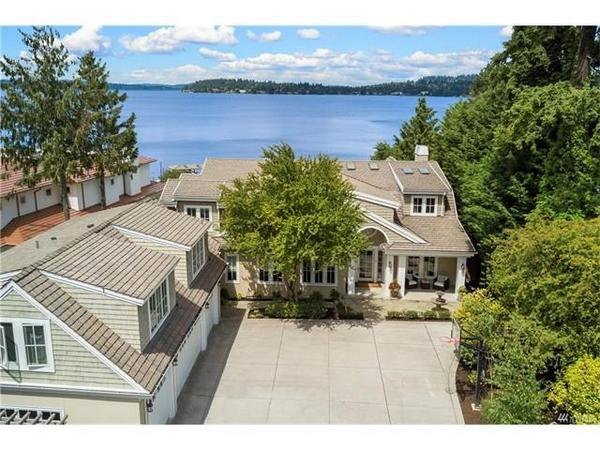 Home of the Day: Hamptons Luxury on Lake Washington