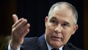Scott Pruitt, administrator of the Environmental Protection Agency.