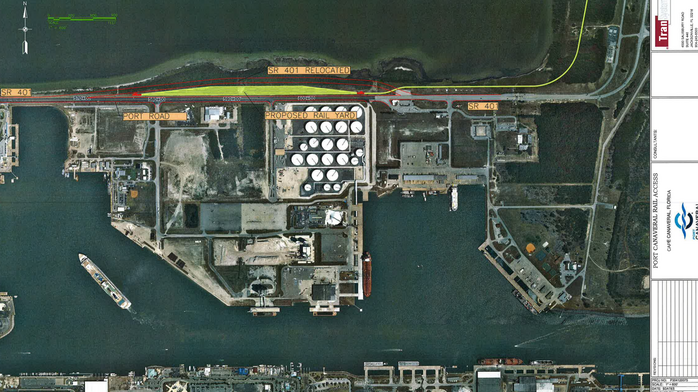 ​Port Canaveral tosses proposed rail routes overboard, zeros in on one route
